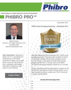 December 2017 Newsletter - Phibro Pro