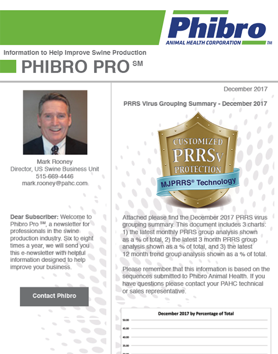 December 2017 Newsletter - Phibro Pro